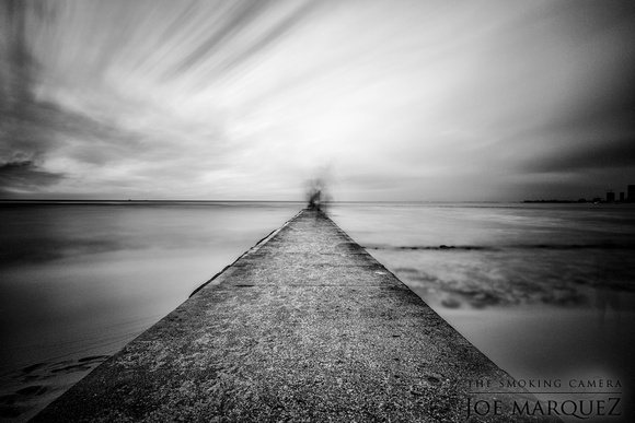 Dream Series: Black and White Infinity Pier (_DSC0050)