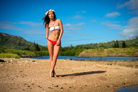 Shaholly in red white bikini photographed by joe marquez with Nikon D800 and 58mm lens _84A6344