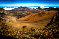 Dream Art Series: Haleakala Crater in Maui Hawaii _DSC8106 Panorama