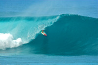 Collection of North Shore Pipeline Surfing Photos