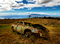 Abandoned Car on Haleakala