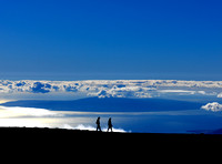 Island of Kahoolawe from Haleakala
