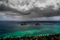 Dream Art Series: Storm Approaches Lanikai