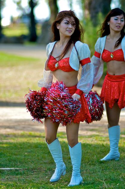 Japanese cheerleaders picture 13