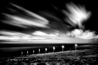 Dream Art Series: Maui Windmills in Black and White _DSC7938