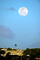 Supermoon over Hawaii March 19, 2011