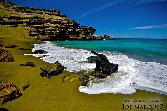 Green Sand Beach Big Island Tour